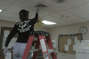 Commercial And Residential Ceiling Cleaning In Connecticut